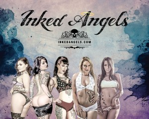 Inked Awards booth